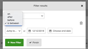 Client Filter Modification