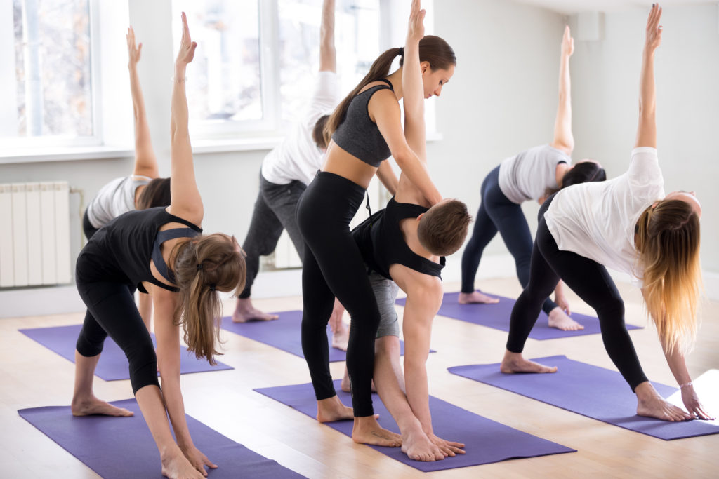 yoga instructor is a fitness business idea