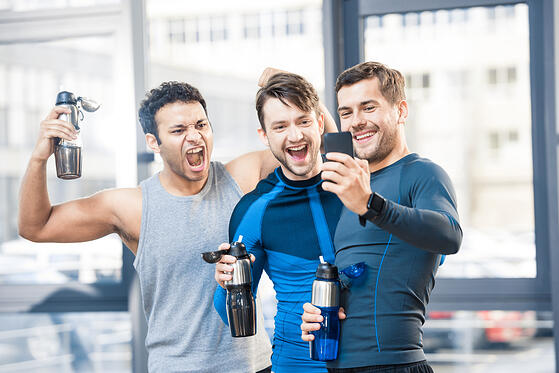 At your gym launch grand opening offer a taste of your community
