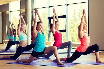 group classes increase retention by up to 75%