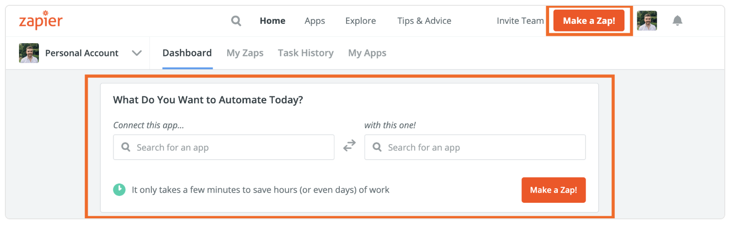 Zapier automates communication and processes between Pike13 and over 1,500 other apps