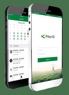 scheduling client app