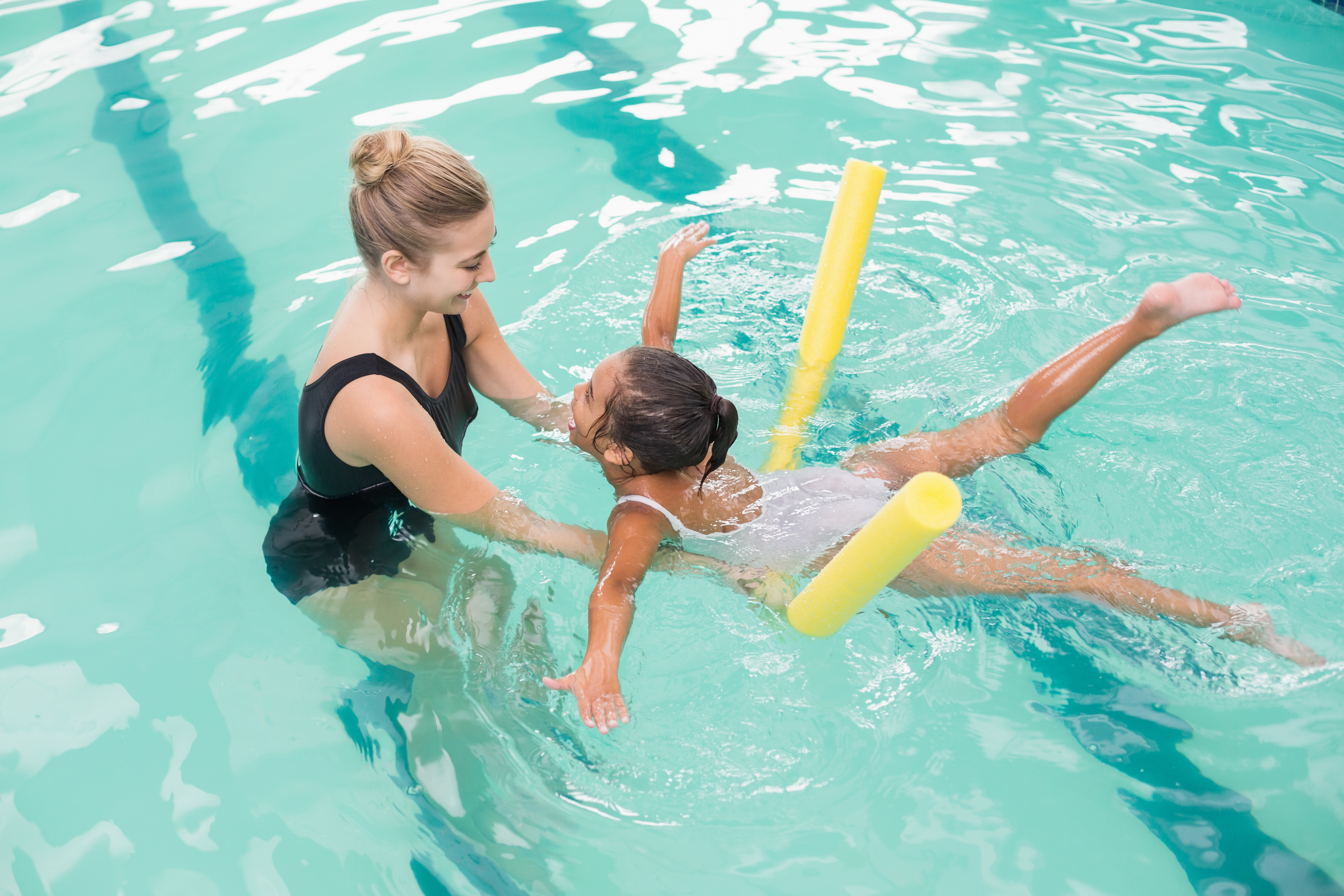 Keeping lessons fun will increase registration rates at your swim school
