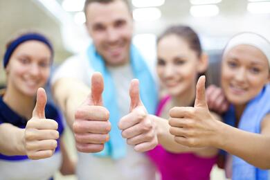 happy staff is a great tip to prevent client complaints at your gym