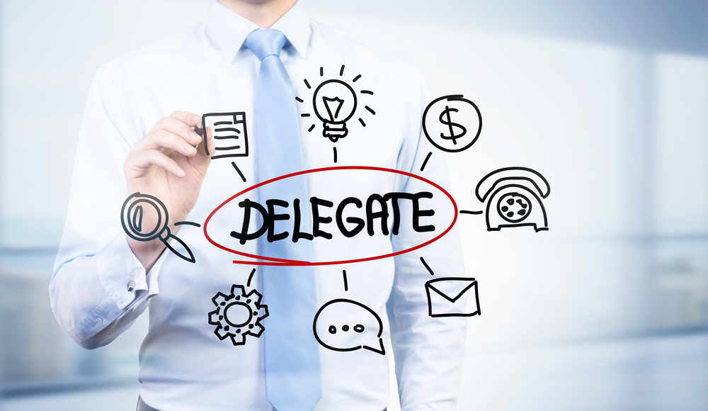 Not delegating is one bad business habit